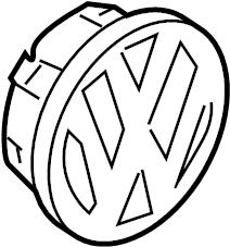 Volkswagen Atlanta: Volkswagen Diamond Silver For Wheel Disc
