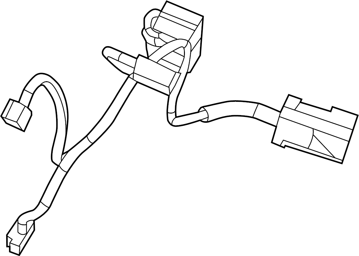 7b0971566e Volkswagen Hvac System Wiring Harness Wire