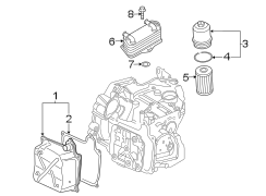 TRANSAXLE PARTS. ENGINE / TRANSAXLE.