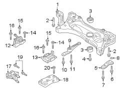 ENGINE & TRANS MOUNTING. ENGINE / TRANSAXLE.