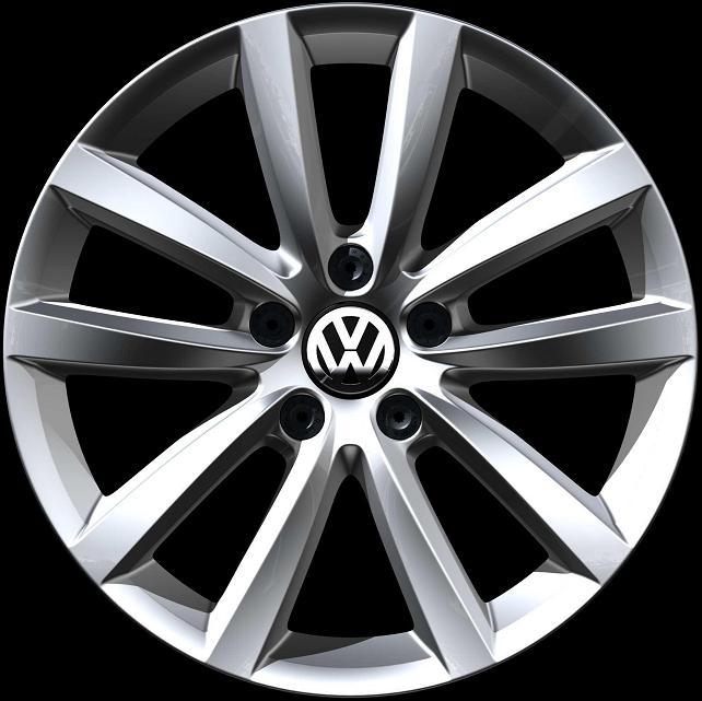 Volkswagen Atlanta: 3AA601025C 8Z8 - Volkswagen VW Diamond Silver