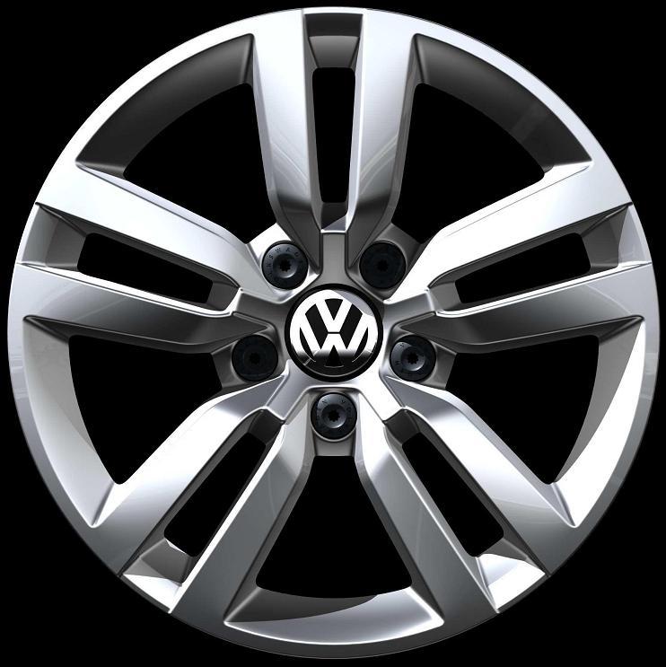 Volkswagen Atlanta: Volkswagen Tiguan Diamond Silver - 5N0601025R 8Z8