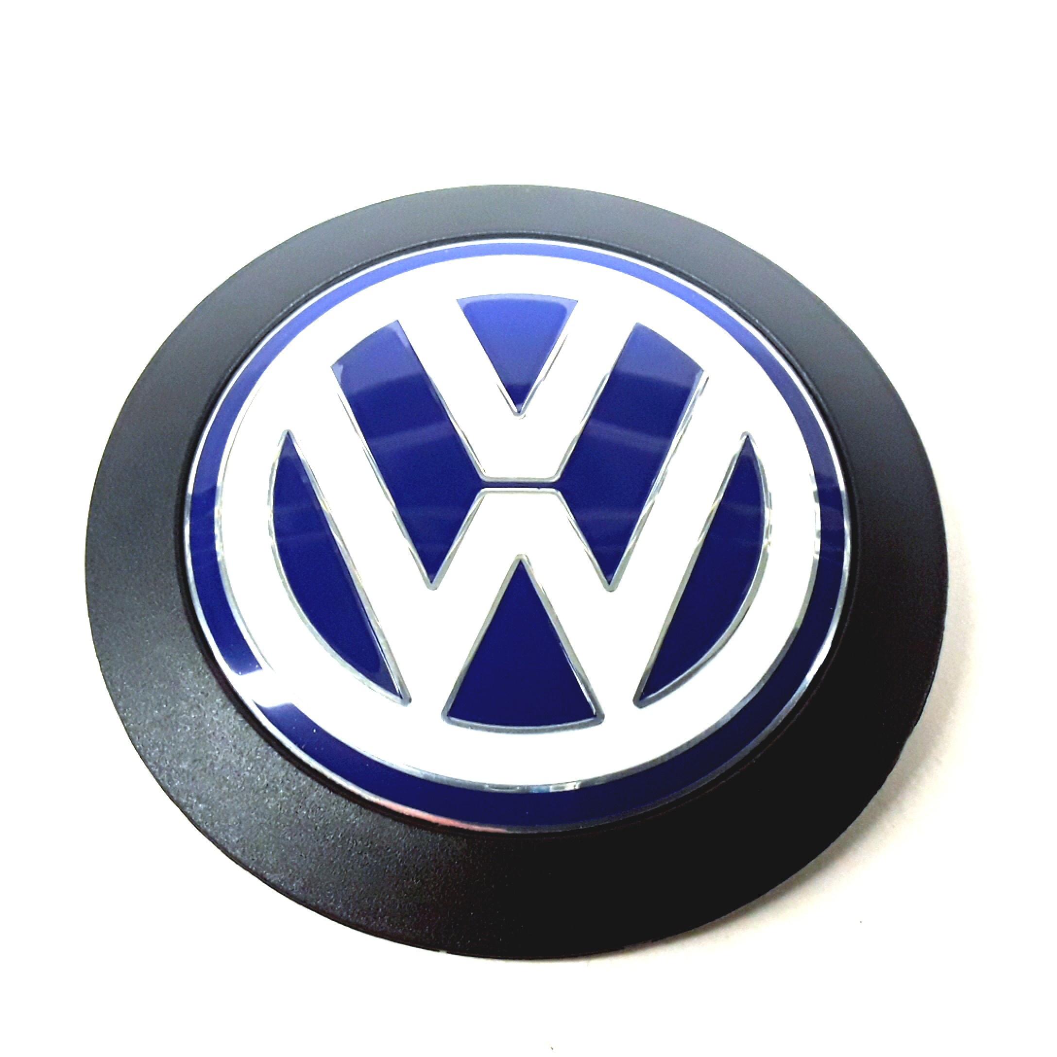 Volkswagen Atlanta: 038103940F - Volkswagen VW Vw Sign. VW EMBLEM. Blue