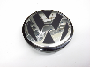 Center Cap - VW Logo - Black